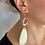 Thumbnail: Rose Statement Wedding Earrings
