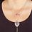 Thumbnail: Unusual Amethyst Crystal Necklace
