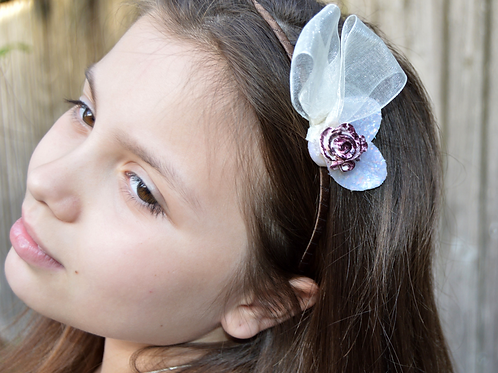 Flower Bridal Girl Headband