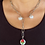 Thumbnail: Luxury Design Rose Pearl Necklace