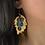 Thumbnail: Leaves Drop Earrings