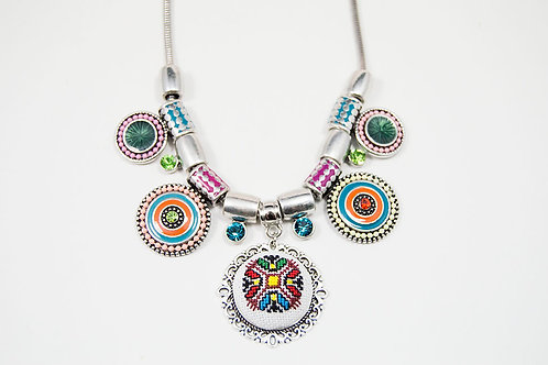 Colorful Vintage Necklace For Women