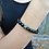 Thumbnail: Black Agate & Indian Jasper Bracelet