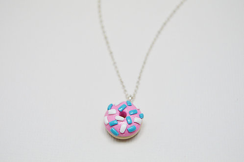 Donut Charm Necklace