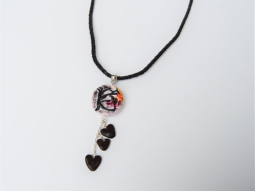 Halloween Leather Necklace