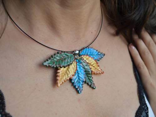 Fall Pendant Necklace