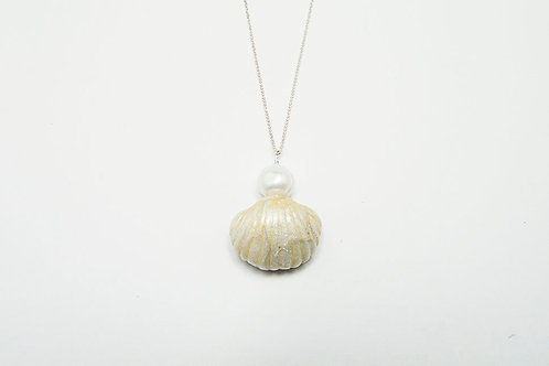 Hawaiian Shell Pearl Necklace