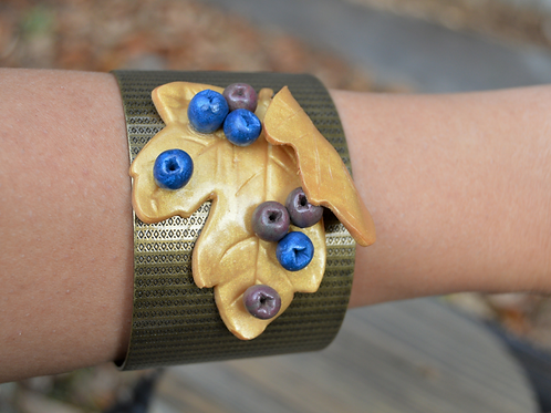 Leave Copper Adjustable Bracelet