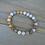Thumbnail: Gray & Brown Jasper Beaded Bracelet
