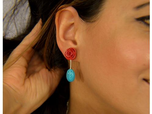 Boho Stud Earrings