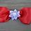 Thumbnail: CLASSIC RED & WHITE VALENTINE HEADBAND