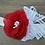 Thumbnail: Flower Holiday Headband