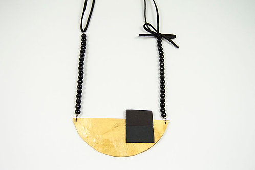 Fashion Statement Leather Necklace