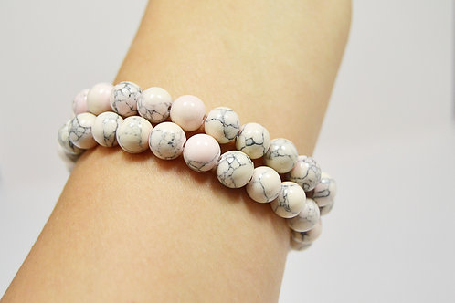 Pink Gemstone Bracelet