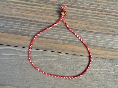 Wood Bead Adjustable Bracelet
