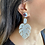 Thumbnail: Resin Leaves Statement Earrings