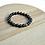 Thumbnail: Black Agate & Indian Jasper Bracelet