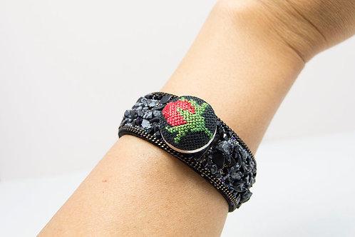 Druzy Stone Vintage Bracelet