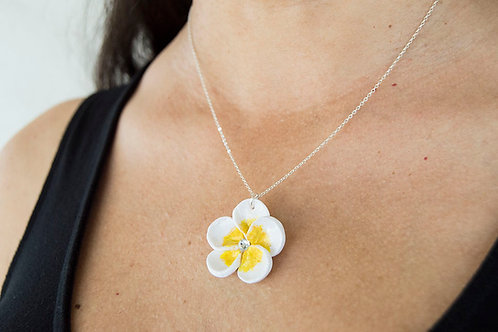 Plumeria Hawaiian Necklace