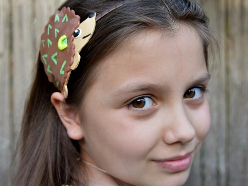 Handmade Hedgehog Headband