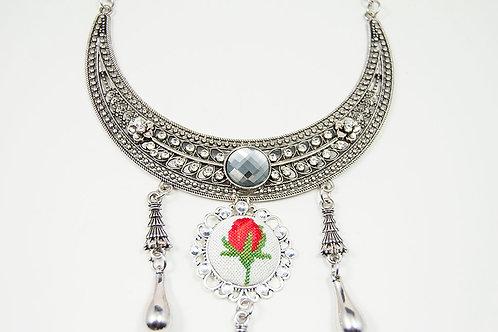 Boho Vintage Statement Necklace