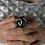 Thumbnail: Black and White Ring