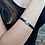 Thumbnail: Black Agate & Mountain Stone Bracelet