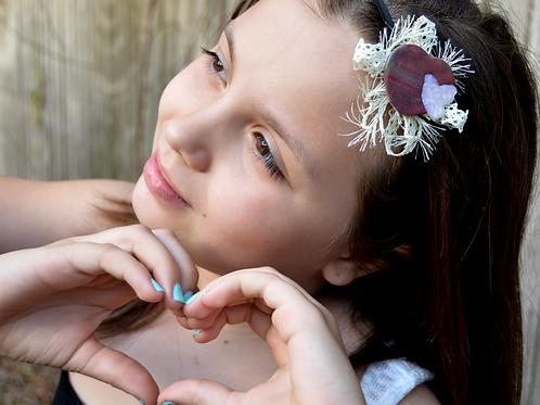 Valentine Girl Headband