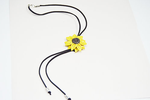 Sunflower Y Long Necklace