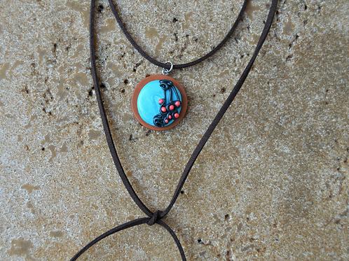 Wood Y Boho Necklace
