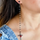 Thumbnail: Cross Long Stud Earrings