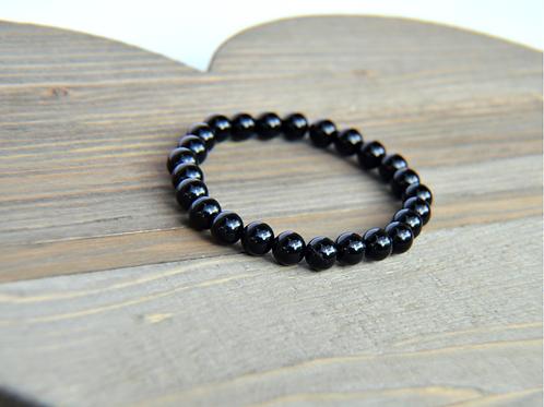 Black Agate Stone Bracelet