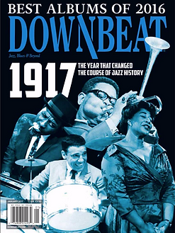 Catina DeLuna & lado B Brazilian Project among The Best Albums of 2016 by DOWNBEAT MAGAZINE