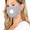 Thumbnail: PM 2.5 Adult Face Mask W/ Ear Clip