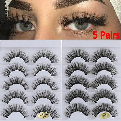 3D Faux  Hair Eyelashes