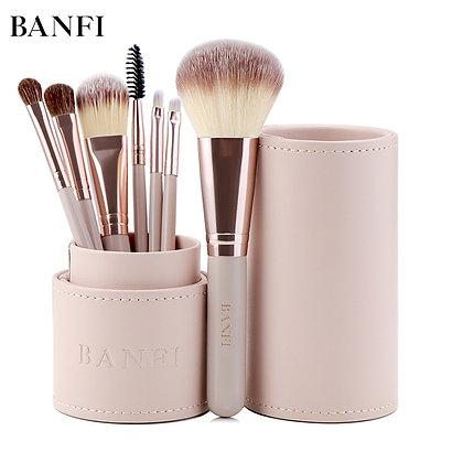 7PCs/Set Makeup Brush Beauty Kit