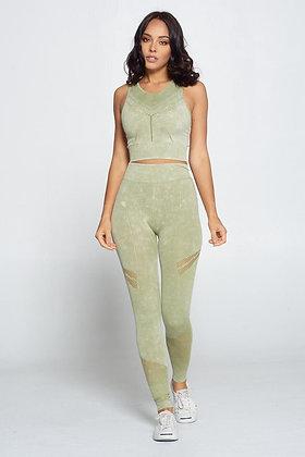 Green Trisha Set