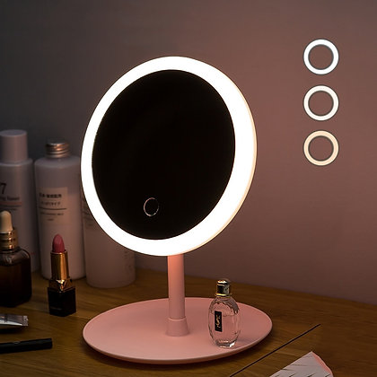 Led Light Makeup Touch Mirror