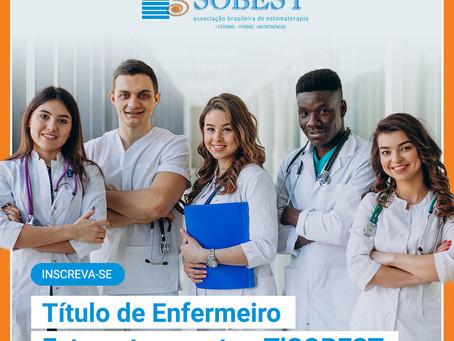 Título de Enfermeiro Estomaterapeuta - TiSOBEST