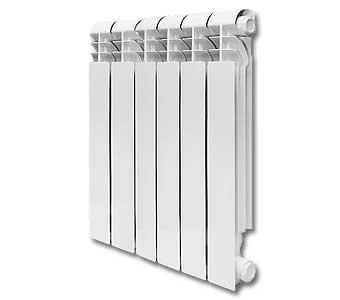 """STI"" (6 секций) Радиатор отопления (алюминий)"