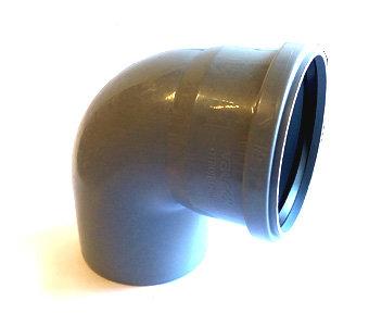 110 x 90° Отвод канализационный