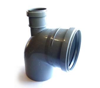 110 x 90° (выход 50 вверх) Отвод канализационный