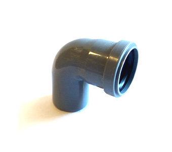 50*90° Отвод канализационный