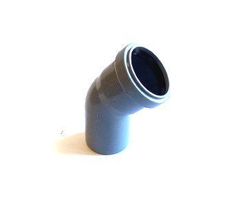 50*45° Отвод канализационный