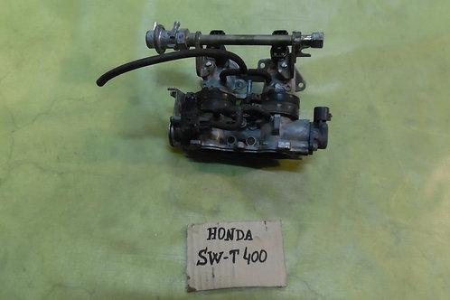 CORPO FARFALLATO USATO HONDA SWT 400 2010