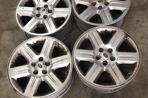 4 CERCHI IN LEGA DA 17 ORIGINALI LAND ROVER FREELANDER 2