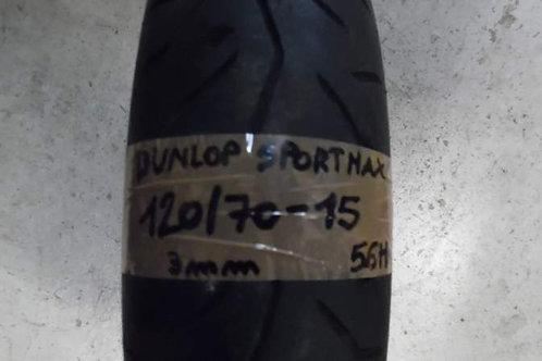 PNEUMATICO Dunlop Sport Max 120-70-15 56H | usura 3mm