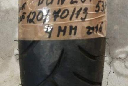 PNEUMATICO Dunlop Scootsmart 120-70-13 53P   usura 4mm