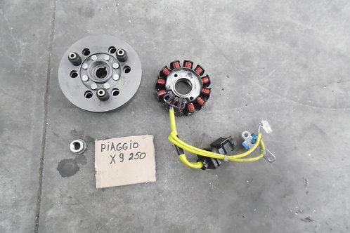 STATORE E VOLANO USATI PIAGGIO X9 200 250 MOT PIAG