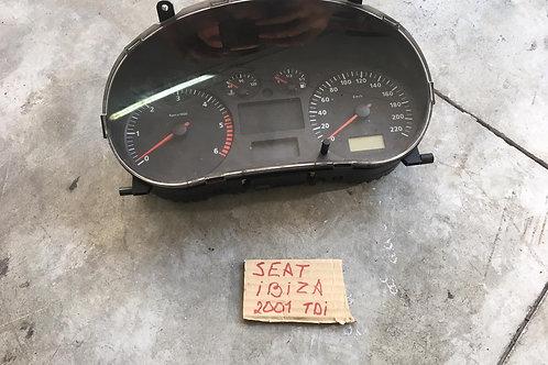 QUADRO STRUMENTI USATO SEAT IBIZA 1.9 TDI 00-03